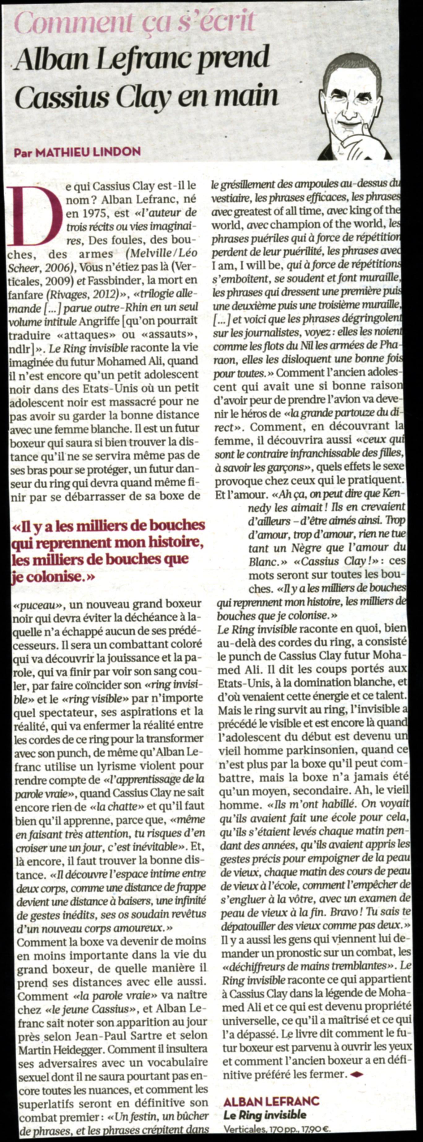 AES 2013 Prix Revue de presse Libération