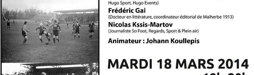 Ecrire le sport - conférence Caen 2014