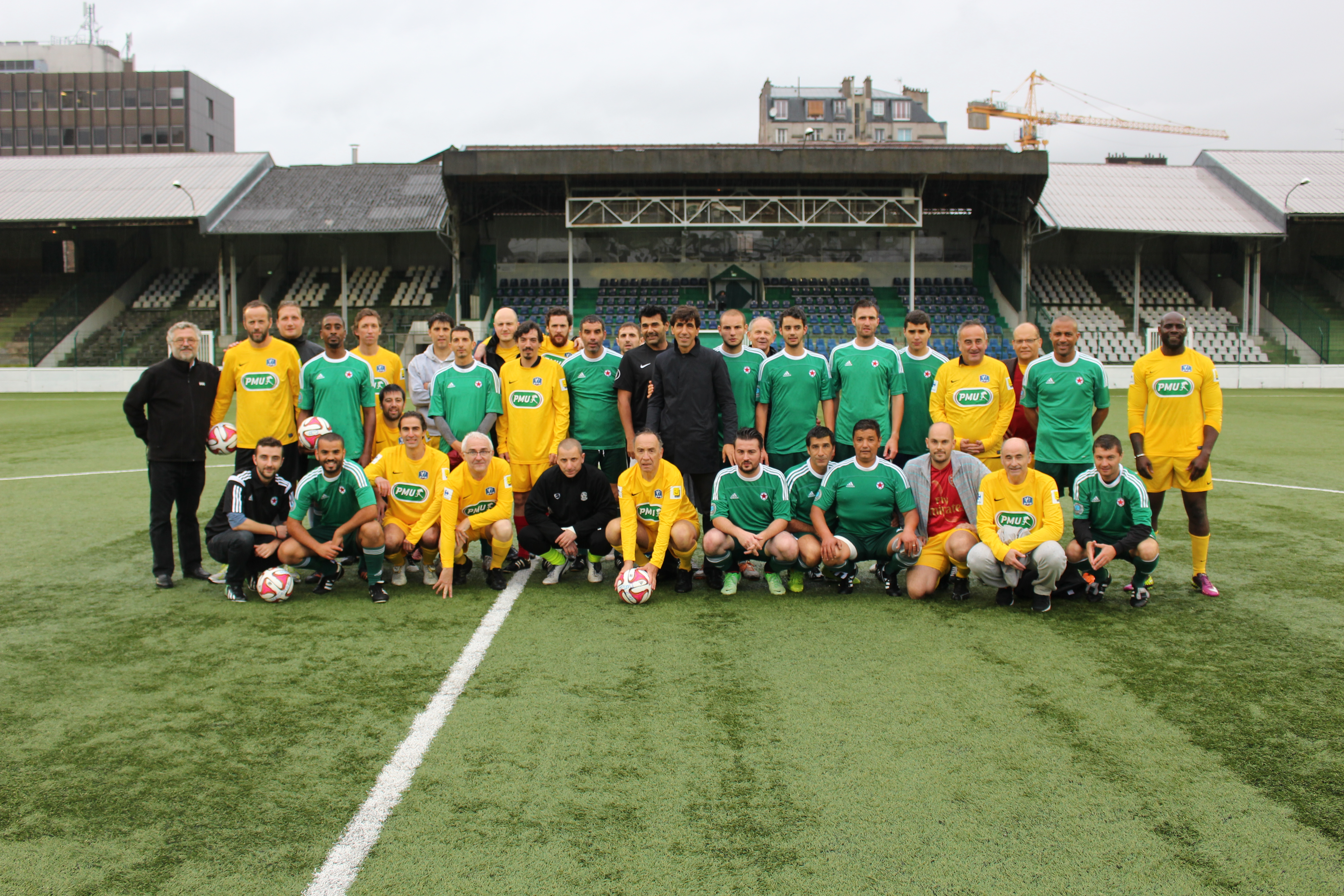 AES 2014 Match de foot AES - Red Star Photo 1