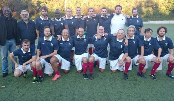 L'honorable défaite de l'équipe de France des écrivains