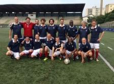 AES 2018 Match France-Angleterre Photo de l'équipe de France (2)