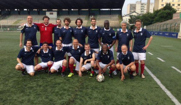 L'Équipe de France des écrivains bat l'Angleterre !