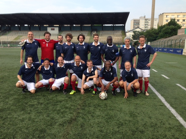 AES 2018 Match France-Angleterre Photo de l'équipe de France