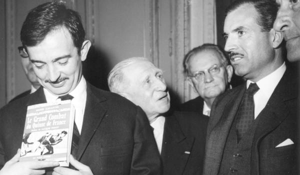1959 : Denis Lalanne, lauréat du Grand Prix Sport et Littérature