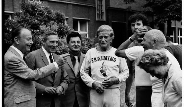 1973 : Meeting sportif des écrivains sportifs à l'INSEP