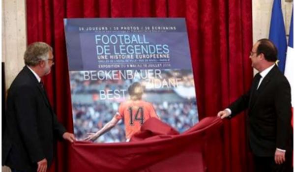L'AES, partenaire de l'exposition « Football de légendes »