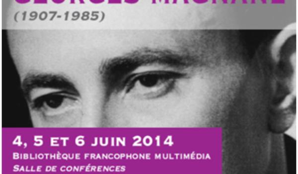 Colloque | Georges Magnane : la plume et le sport