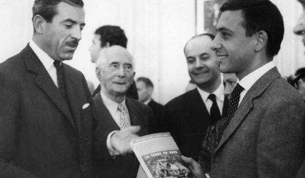 1961 : Jean-Claude Baudot et Jacques Séguéla, lauréats des Prix de l'AES
