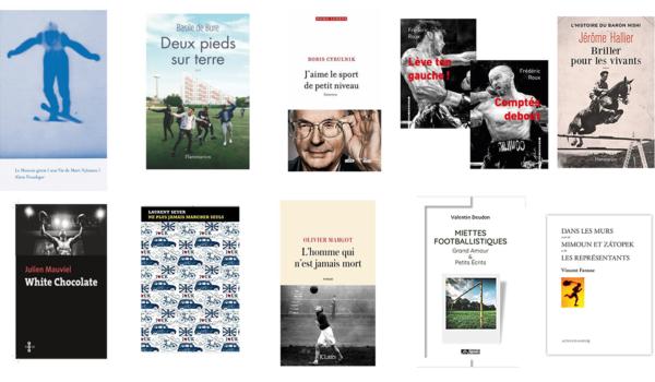 Grand Prix Sport & Littérature 2020 : les ouvrages en lice